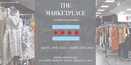 3 DAY THE MARKETPLACE presented by FashionBar LLC  - VENDING  OPPORTUNITIES tickets