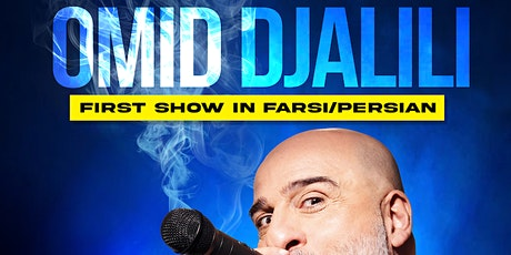A Virtual Evening with Omid Djalili (In Farsi) - London Time tickets