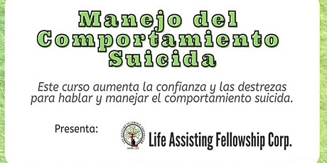 TALLER DE INTEVENCION DEL COMPORTAMIENTO SUICIDA boletos