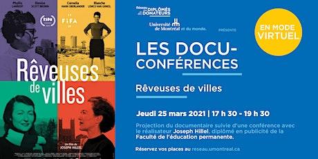 DOCU-CONFÉRENCES | Avec Joseph Hillel billets