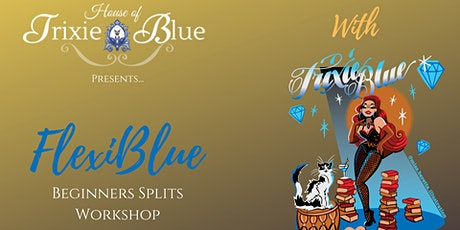 Online FlexiBlue Beginners/Improvers Splits Workshop tickets