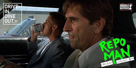 Repo Man - Drive-In Dine-Out at Tustin's Mess Hall Market tickets