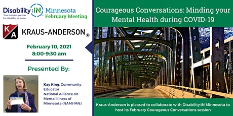 Courageous Conversations: Minding your Mental Health during COVID-19 tickets
