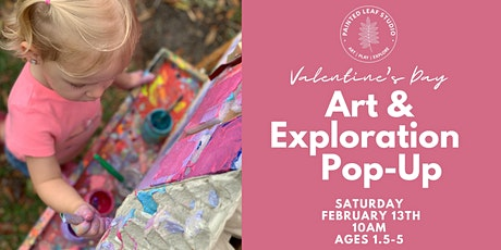 Valentine's Day  Art & Exploration Pop-Up tickets