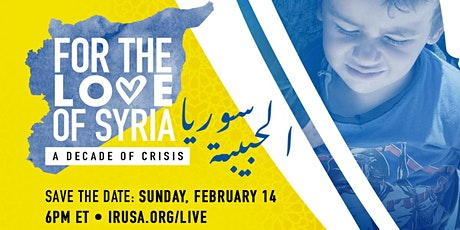 For the Love of Syria tickets