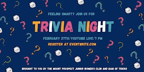 MPJWC Trivia Night - Saturday, Feb 27th tickets