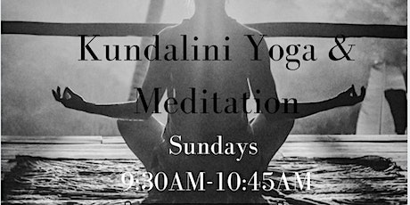 Kundalini Yoga & Meditation tickets