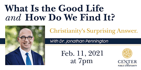 What Is the Good Life and How Do We Find It? tickets
