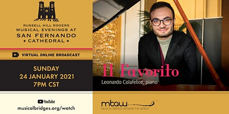 IL FAVORITO | Musical Evenings at San Fernando Cathedral (Online) tickets