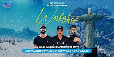 WORKSHOP RIO DE JANEIRO ingressos