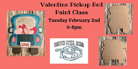 Valentine Pickup Bed Paint Class tickets
