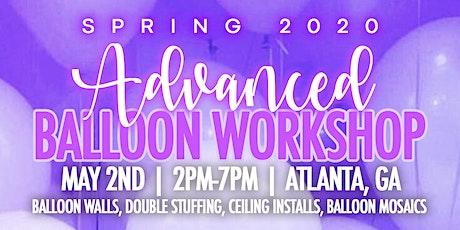 CreatiVisuals Advanced Balloon Workshop Spring 2020 tickets