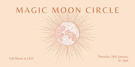 Modern Moon Circle ~ Full Moon in LEO tickets