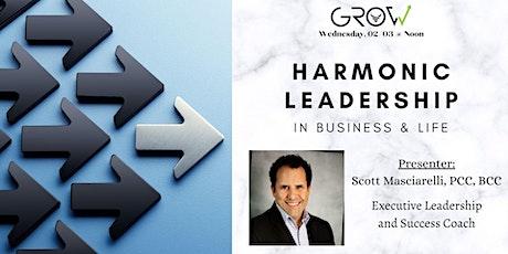 Harmonic Leadership in Business & Life tickets