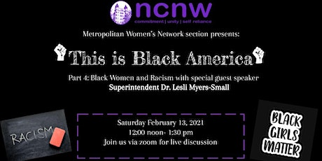 This is Black America Virtual Series: Black Women and Racism tickets