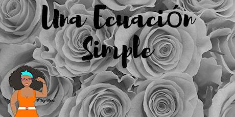 Una Ecuación Simple - La tertulia entradas