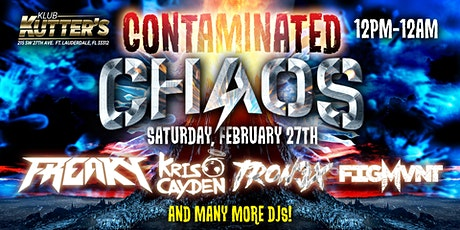 contaminated chaos tickets