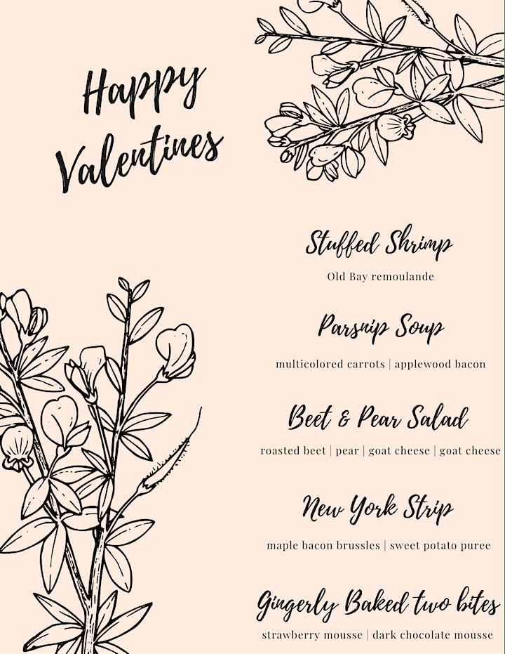 Sundial House - Valentines Dinner image