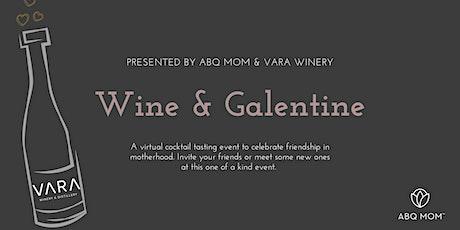 Wine & Galantine tickets