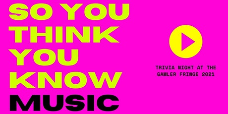 So You Think You Know Music?! tickets
