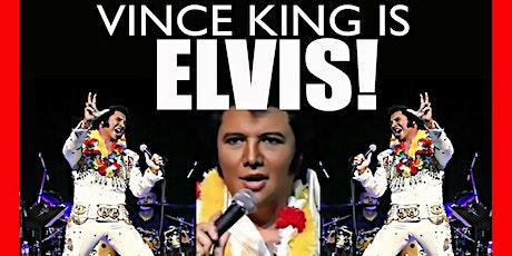 Vince King as ELVIS in ALOHA FROM ROCKEFELLERS ! tickets