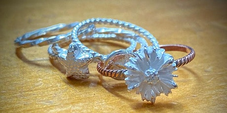 Metal Clay Jewelry Workshops: Embellished Stacking Rings tickets