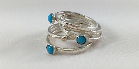 Sunday Jewelry Workshops: Tube Set Stone tickets