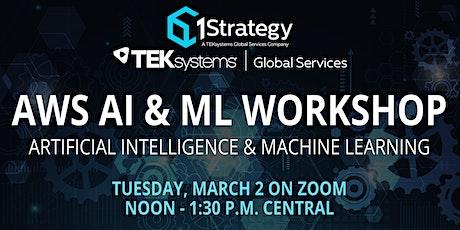 1Strategy AWS AI/ML Workshop tickets