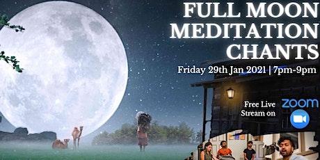 Free Full Moon Meditation Chants Online tickets