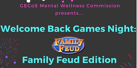 Welcome Back Games Night: Family Feud Edition tickets