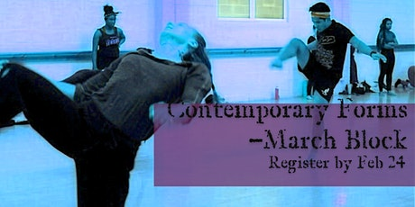 Evolving Doors Dance Contemporary Forms  (March Block = Mar 3, 10, 17) tickets