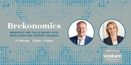 Brekonomics – Breakfast and the Economy with Brad Olsen & Venture Taranaki tickets