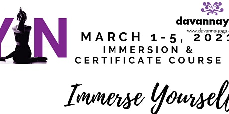 Yin Yoga Immersion & Certificate Course tickets