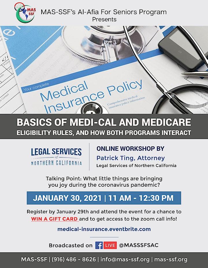 Basics of Medi-Cal and Medicare image