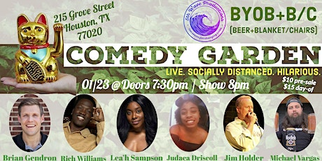 Comedy Garden tickets