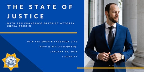San Francisco District Attorney's Office  - The State of Justice tickets