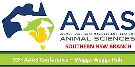 33rd AAAS Conference Wagga Wagga Hub tickets