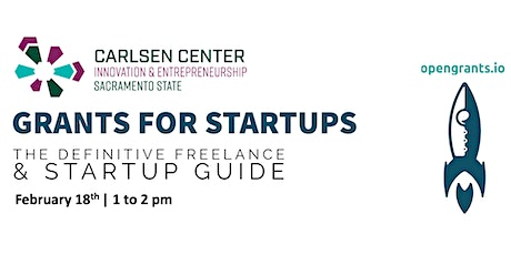 Grants for Startups: The Definitive Freelance & Startup Guide tickets