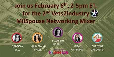 2nd VETS2INDUSTRY MilSpouse Networking Mixer tickets