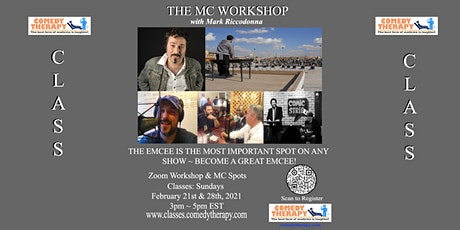 The MC Workshop with Mark Riccadonna tickets