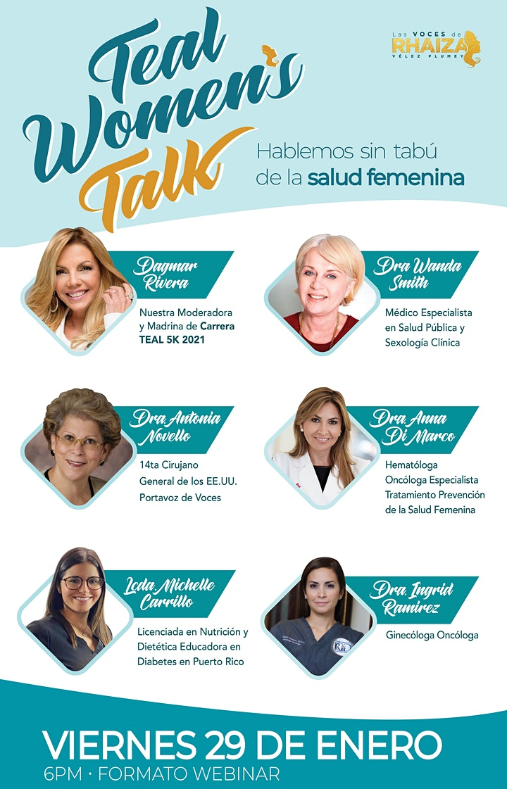 Teal Women's Talk image