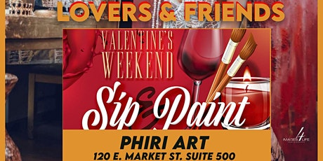 LOVERS & FRIENDS | Sip & Paint Party @PHIRI tickets