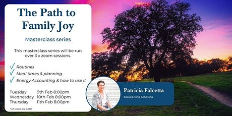 The Path to Family Joy - February 2021 tickets