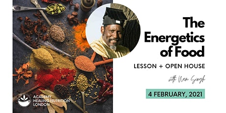 The Energetics of Food (Open House) tickets