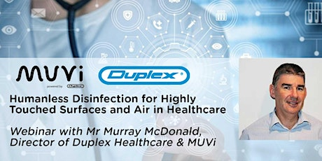 Humanless Disinfection for Highly Touched Surfaces and Air in Healthcare tickets