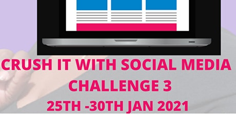 Crush It With Social Media Challenge tickets
