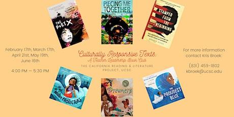 Culturally Responsive Antiracist Literature Book Club-CRLP  UC Santa Cruz tickets
