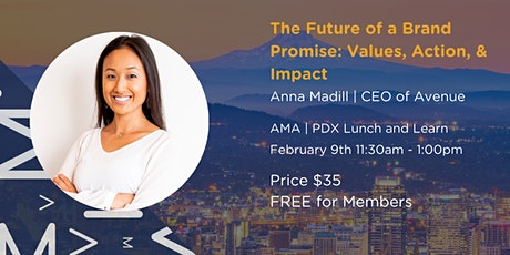 The Future of a Brand Promise: Values, Action & Impact tickets