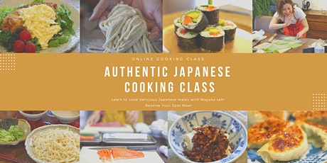 Authentic Japanese Cooking Class tickets