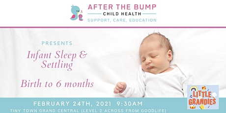 Infant Sleep & Settling, Birth to 6 months tickets